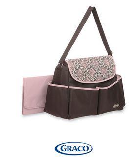Graco messenger diaper bag