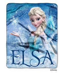 Elsa frozen throw