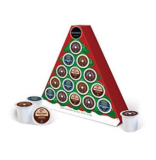 Kcup christmas tree keurig
