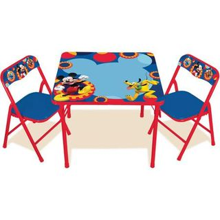 Mickey mouse clubhouse table chairs