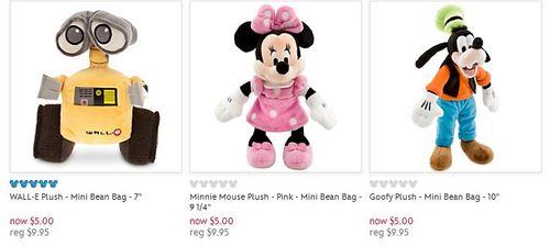 Disney $5 plush