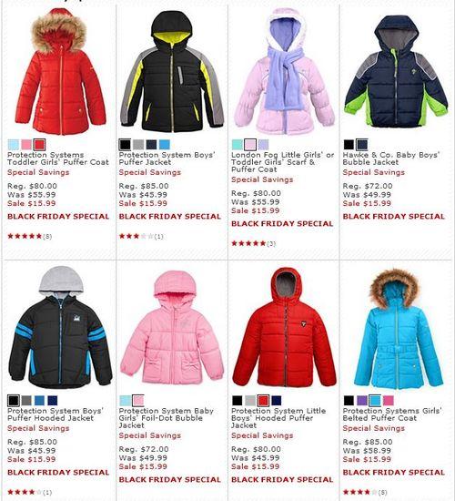 Macys kids puffer jackets