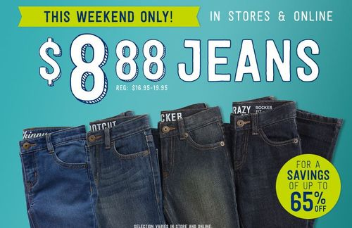 Crazy 8 $8.88 jeans
