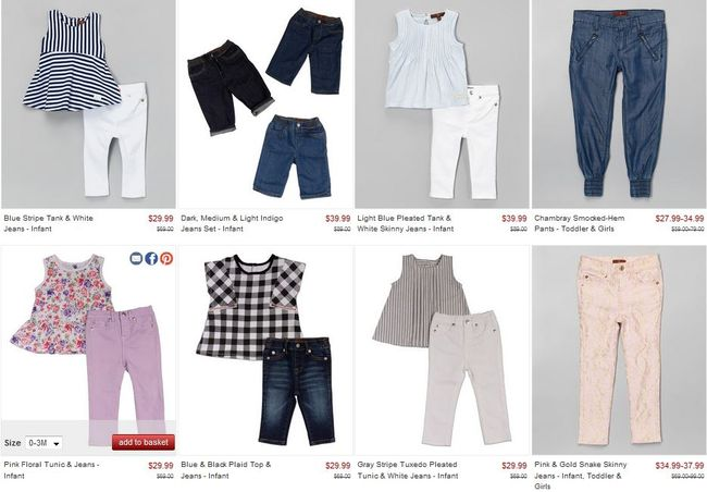 7 for All Mankind for girls up to 70% off
