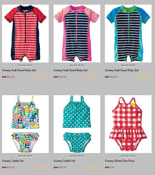 Hanna Andersson's Summer Favorites Sale 40% off Swimwear and more
