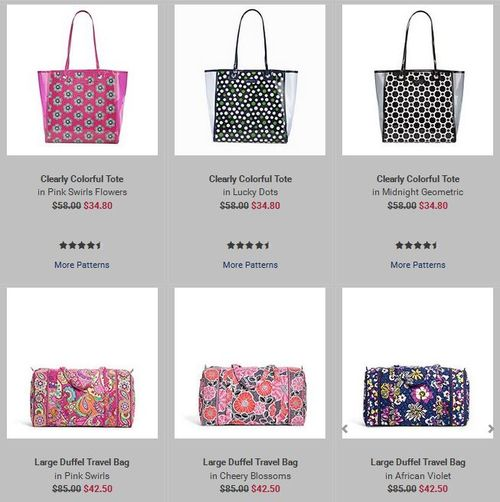 Vera bradley 4th of july sale