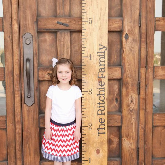 Personalized Growth Chart Vinyl Kit $8.99