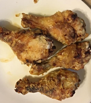 Air fryer chicken legs