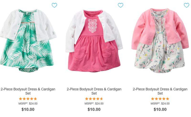 Carter's $10 dresses