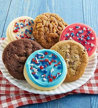 Cheryl's cookies americana sampler