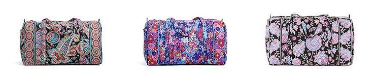 Vera bradley large duffel travel bags