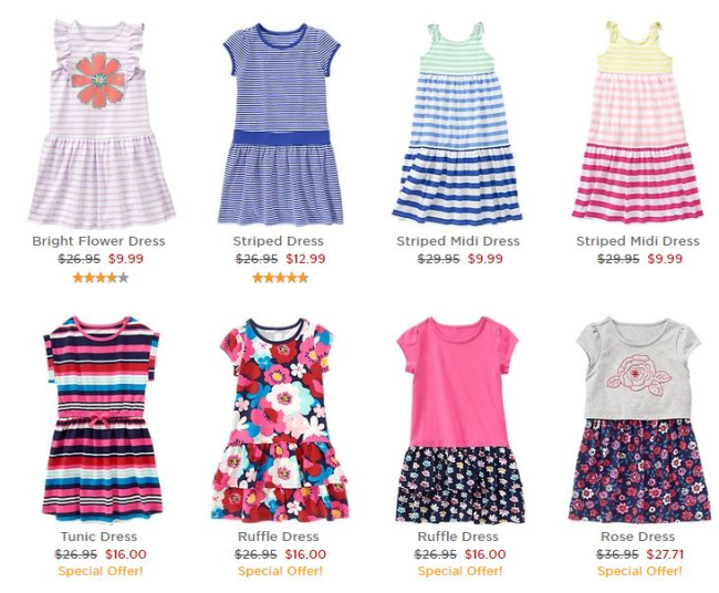 Gymboree FREE Shipping on All Orders, Back to School Shopping, Clearance 75% off
