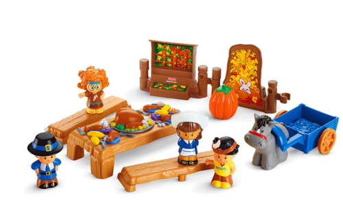 Little people thanksgiving celebration set