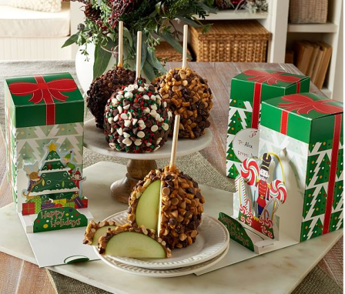 Mrs. Prindables 10 large apples with 3d pop up holiday gift boxes