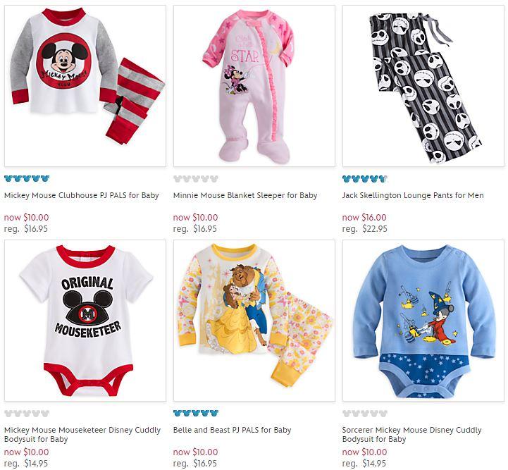 Disney store pajamas