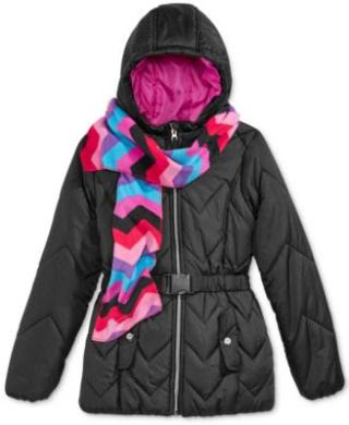 Macy's kids puffer jackets