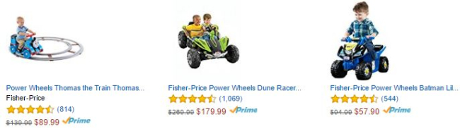 Amazon - Ride On Toys up to 40% off - From $14.99