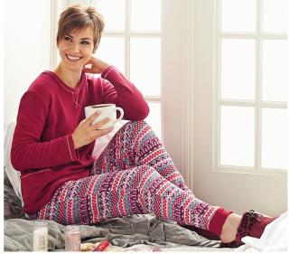 Cuddl duds fleece novelty pajamas