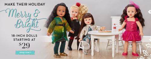 Madame alexander 18 dolls
