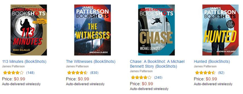 James patterson bookshots