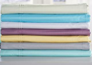 Northern nights 420TC wrinkle defense sheet set w extra pillowcases