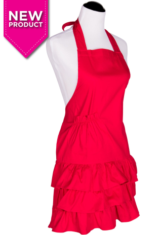 Flirty aprons red