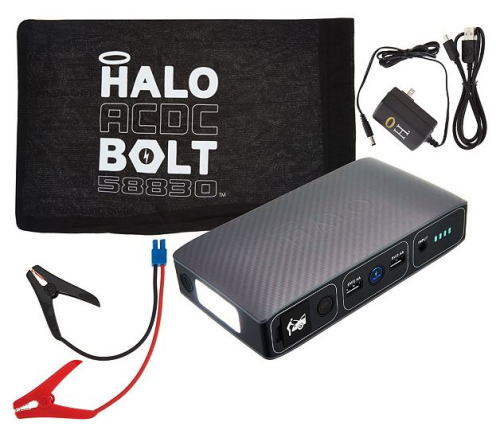 HALO BOLT ACDC Portable Charge Car JumpStarter