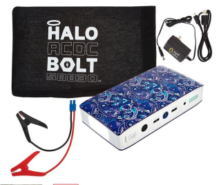 HALO Bolt ACDC Portable Charge Car JumpStarter 2