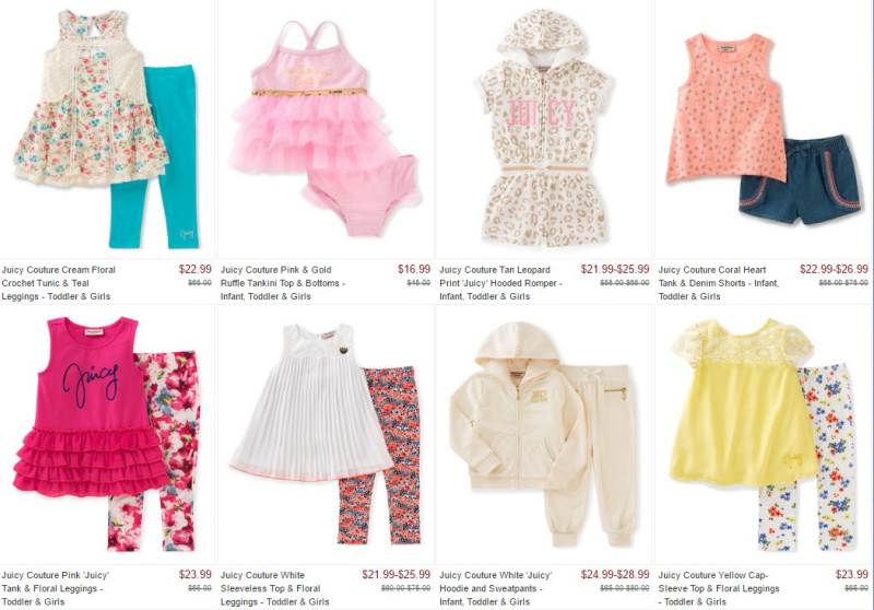 Juicy couture at zulily