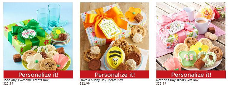 Cheryl's cookies free shipping