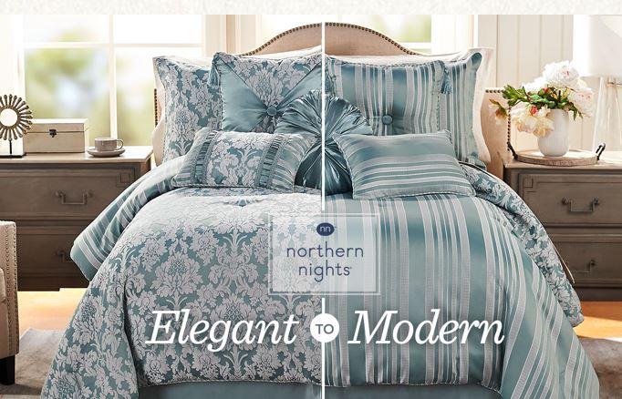 Northern Nights 7 Piece Reversible Comforter Set