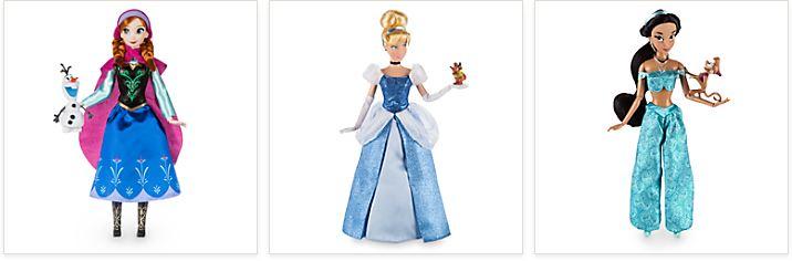 Disney classic dolls 1