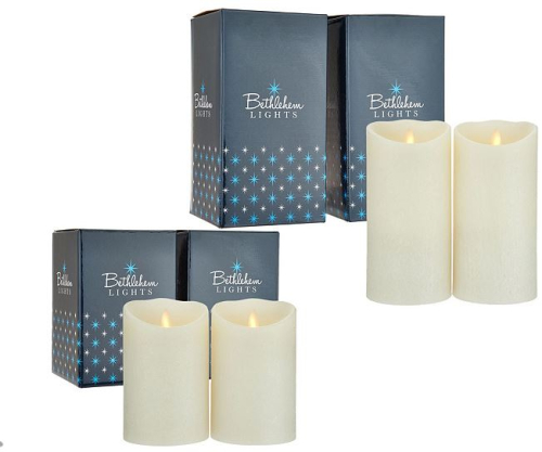 Bethlehem Lights Set of 2 5 or 7 Touch Candles