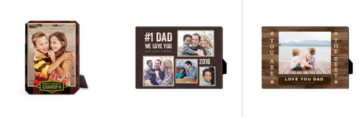 Shutterfly desk plaque