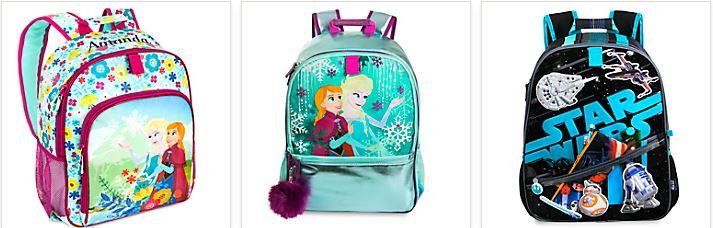 Disney store backpacks 1