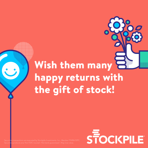 Stockpile-gift-shares-of-stock