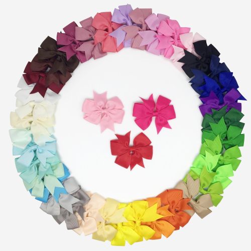 40 piece hair bow clip for baby toddler girl