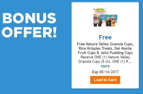 Kroger clicklist bonus offer