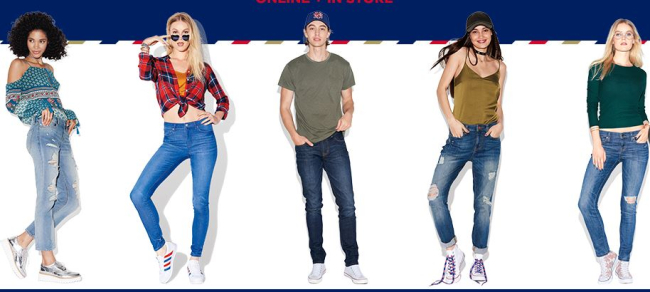Aeropostale Buy One, Get One FREE Girls & Guys Jeans #BackToSchool