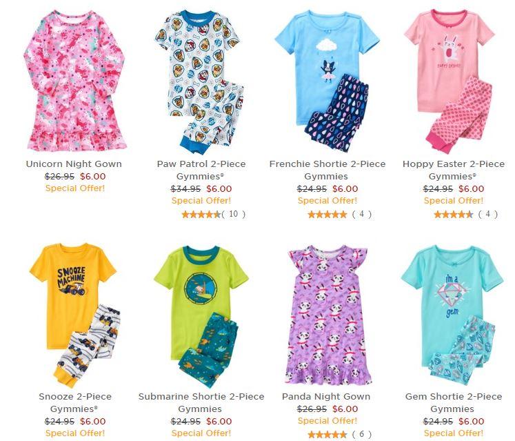 Gymboree pajamas on sale 2