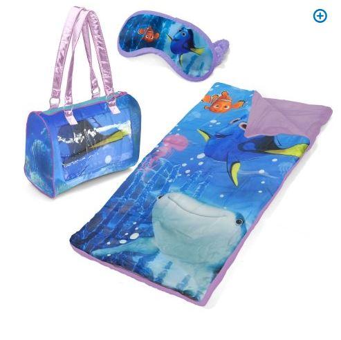 Finding dory sleepover purse with eyemask