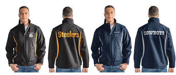 NFL Soft shell bonded jacket with fleece lining 2