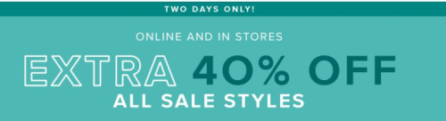 Vera bradley 40% off sale free shipping deals