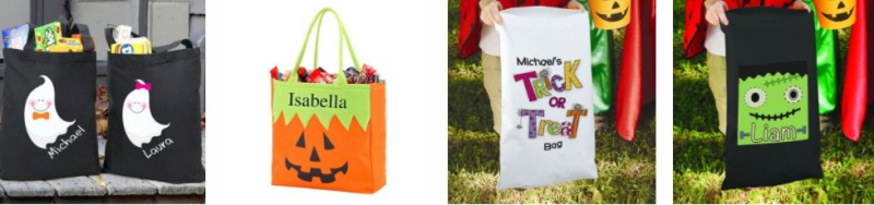 Halloween trick or treat bags 2