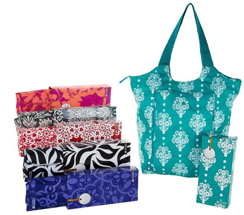 California Innovations Set of 6 insulated tote bags with gift boxes