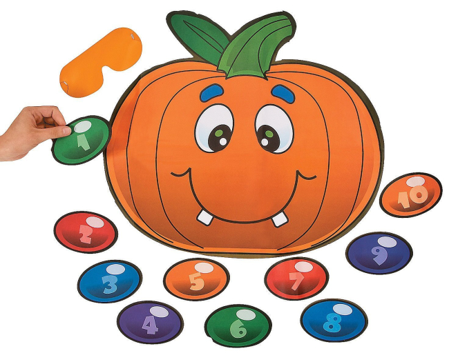 Pin the Nose on the Pumpkin Game $5.13 - Great for Halloween Parties
