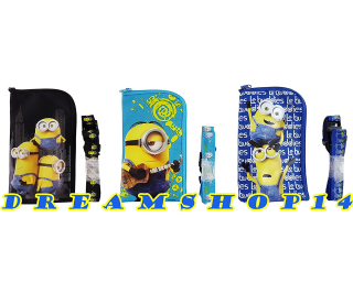 Minions wallet lanyards