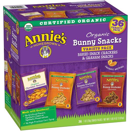 Annie's organic snacks