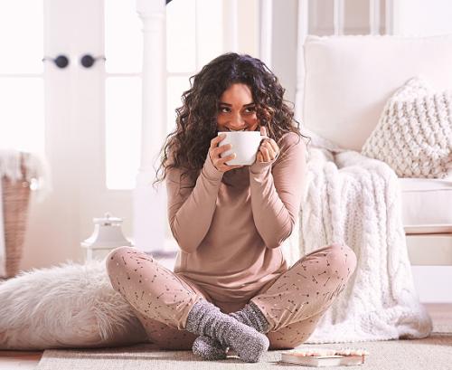 AnyBody Loungewear knit novelty pajamas