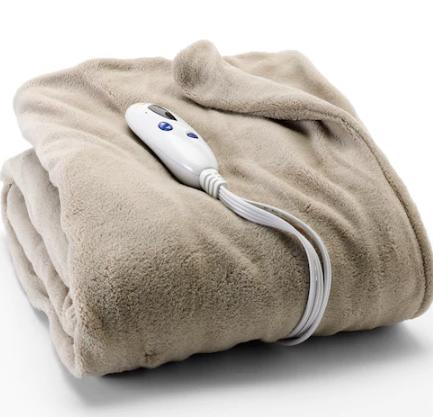 Biddeford heated plush thrown